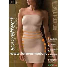 Vestito tubino donna Intimidea body gold modellante contenitivo