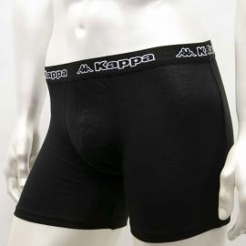 6 Boxer uomo Kappa in cotone elasticizzato con elastico esterno loggato