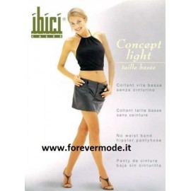 Collant donna Ibici Concept 15 Light vita bassa velatissimo