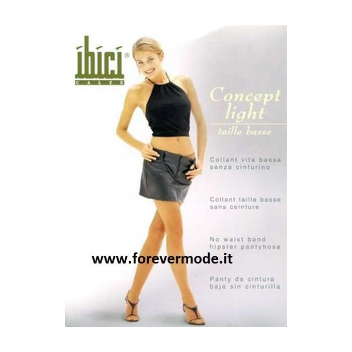 Collant donna Ibici Concept 15 Light vita bassa velatissimo