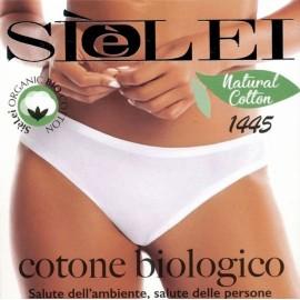 3 Slip donna SieLei cotone biologico elasticizzato con bordi piatti comfort
