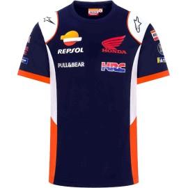 GP Racing Repsol Team Honda Replica HRC T-shirt manica corta unisex
