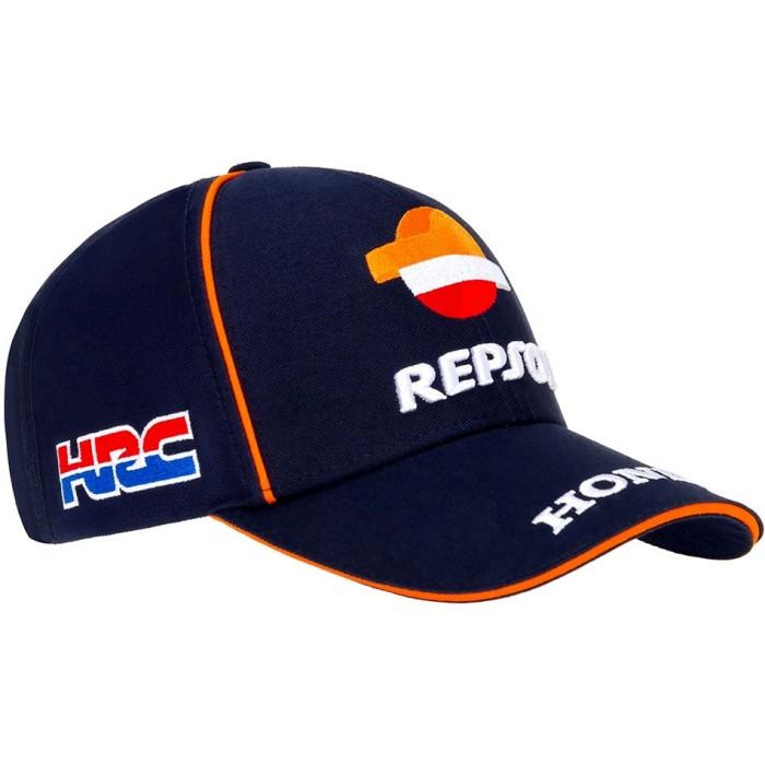 Cappellino GP-Recing Repsol Sun HRC Moto ufficiale squadra unisex