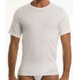 3 T-Shirt uomo Garda manica corta con girocollo basso in cotone pettinato