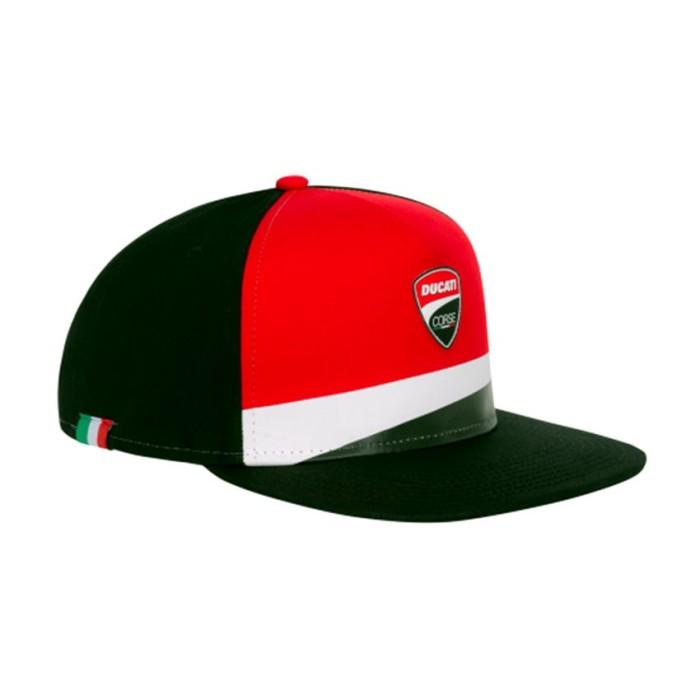 Cappellino Flat collezione Ducati Corse ufficiale squadra unisex