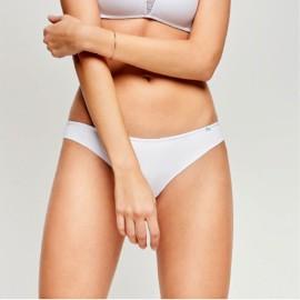 3 Slip Brasiliana donna Infiore in cotone con sgambature invisibili