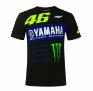 VR46 Valentino Rossi Yamaha Factory Racing Monster T-shirt manica corta