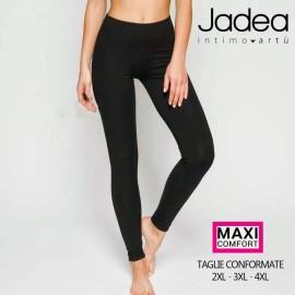 Leggings donna Jadea lungo in morbido cotone elasticizzato Extra Large