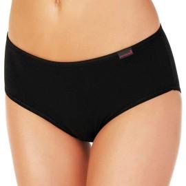 3 Slip donna Nottingham midi in cotone elasticizzato con elastico basso