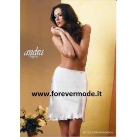 Sottogonna donna Andra Lingerie in elegante raso lucido