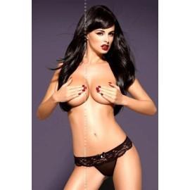 Sexy lingerie donna Obsessive, Pearlight perizoma con pizzo