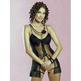 SexyLingerie donna Obsessive,Latino Chemise trasparenza sensuale