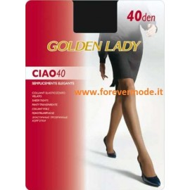Collant donna Golden Lady Ciao 40 elasticizzato semicoprente