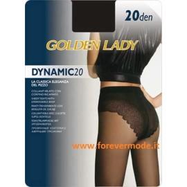 Collant donna Golden Lady Dinamic 20 velato con corpino sgambato