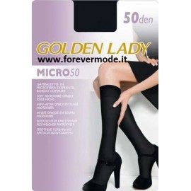 Gambaletto donna Golden Lady Micro 50 in comoda microfibra