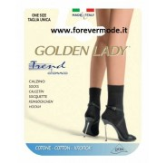 Calzino donna Golden Lady Trend in morbido cotone