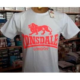 T-shirt uomo Lonsdale manica corta a girocollo con stampa logo