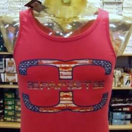 Canotta uomo Papeete con logo grande versione America