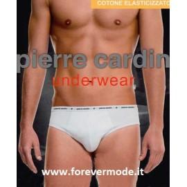 Slip uomo Pierre Cardin cotone elasticizzato, elastico decorato