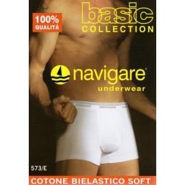 3 Boxer uomo Navigare cotone bielastico con elastico logato