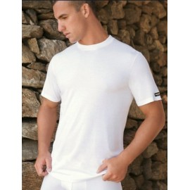 3 T-shirt uomo Navigare manica corta a girocollo in cotone con logo Extra Large