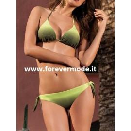 Bikini donna SieLei triangolo imbottito con borchie + brasiliana