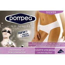 Slip culotte donna Pompea in morbida microfibra a vita bassa