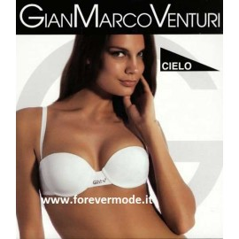 Reggiseno donna Gian Marco Venturi fascia imbottitura preformata