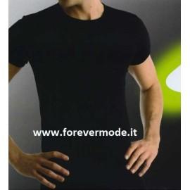 T-shirt uomo Ever in jersey di cotone con scollo basso