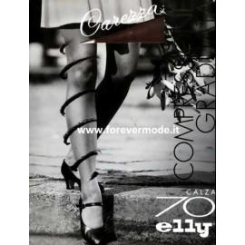 1 Paio di Calza da donna Elly 70 primi disturbi di circolazione mmHg 13/17