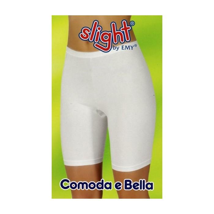 Slip culotte donna Emy con gamba in cotone elastico taglie forti
