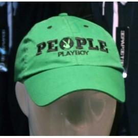Cappello uomo Playboy con visiera e logo frontale ricamato