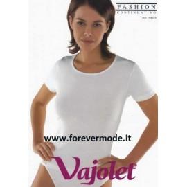 T-shirt maglia donna Vajolet in cotone elasticizzato esternabile