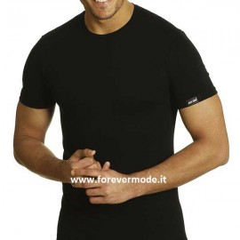T-Shirt uomo Axiom manica corta in cotone elasticizzato e logo