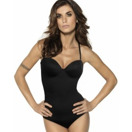 Body donna Lormar, brasiliana con ferretto e imbottiture push up