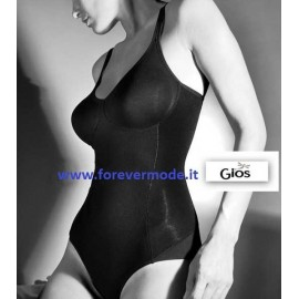 Body donna Gios in cotone senza ferretto con taglio laser