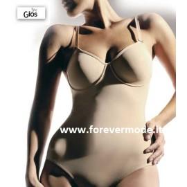 Body donna Gios con ferretto e non imbottito, contenimento forte
