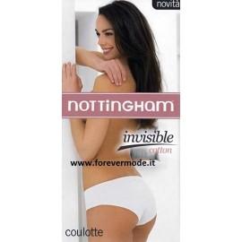 3 Culotte short donna Nottingham a vita bassa in cotone elasticizzato sgambate