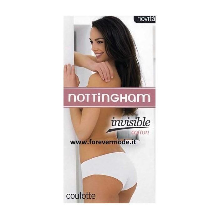 3 Culotte short donna Nottingham a vita bassa sgambati in cotone