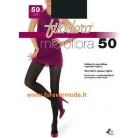 3 Collant donna Filodoro Microfibra 50 coprente tuttonudo