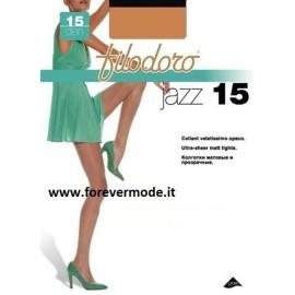 3 Collant donna Filodoro Jazz 15 tuttonudo corpino rinforzato