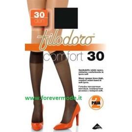 6 Gambaletti donna Filodoro Comfort 30 cinturino confortevole