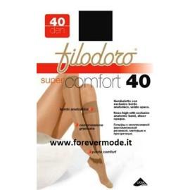 3 Gambaletti donna Filodoro Super Comfort 40 con cinturino anatomico