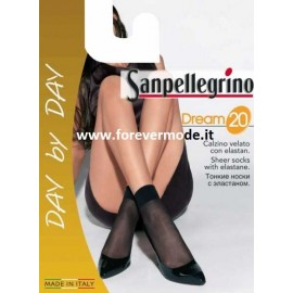5 Calzini donna Sanpellegrino Dream 20 in lycra con bordo soft