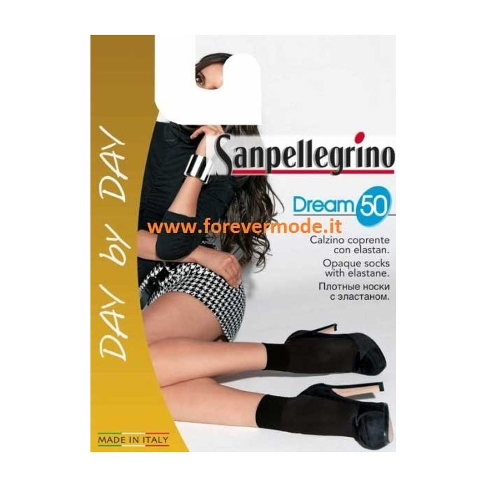 5 Calzini donna Sanpellegrino Dream 50 microfibra con bordo soft