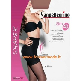 Collant donna Sanpellegrino Slim40 modellante corpino coprente