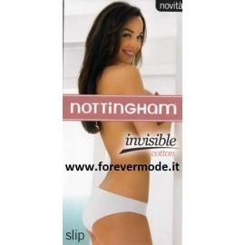 3 Slip donna Nottingham in cotone con sgambature a taglio laser