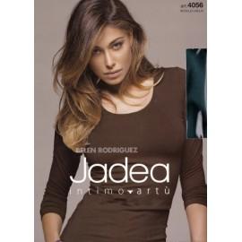 Maglia donna Jadea sottogiacca manica lunga a girocollo in cotone elasticizzato
