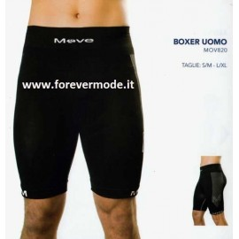 Boxer uomo Move Sportswear con gamba in tessuto tecnico