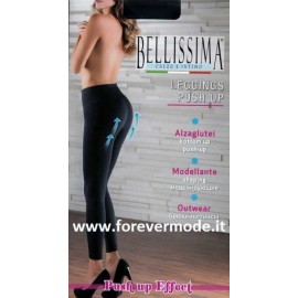 Leggings donna Bellissima in microfibra modellante e alza glutei